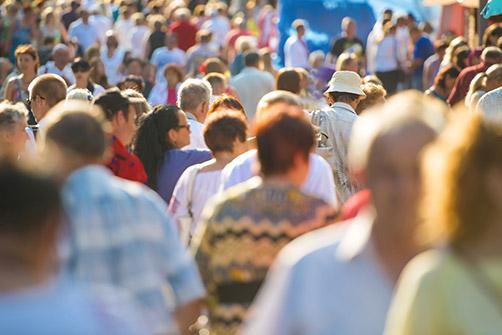 opération de l'obésité, une foule de gens