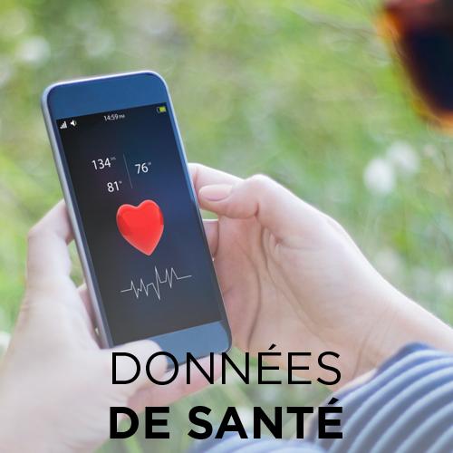 Données de santé : App e-santé