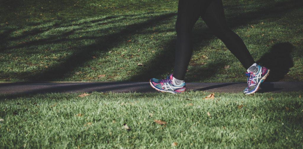 Reprise d'une activité sportive. Course a pied.