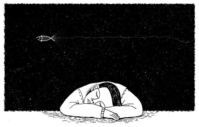 illustration manque de sommeil