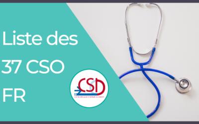Liste des 37 Centres Spécialisés Obésité en France