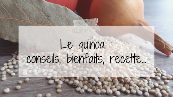 Le quinoa : bienfaits, conseils, recettes follow sur