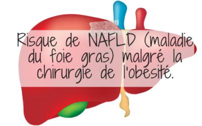 Risque de NAFLD (maladie du foie gras) malgré la chirurgie de l'obésité