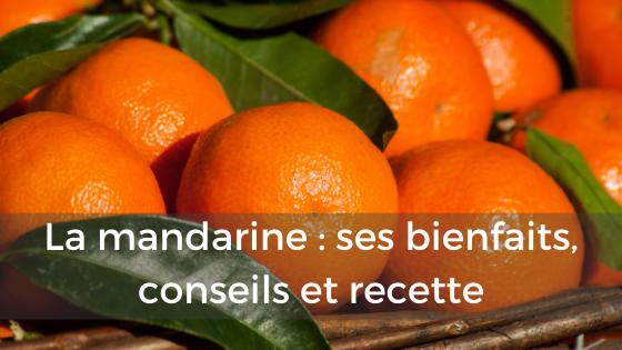 mandarine bienfait conseil recette